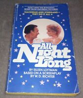 VERY RARE Vintage All Night Long Paperback Barbra Streisand First Edition