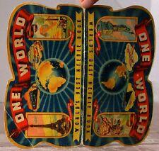 Vintage ONE WORLD World s BEST Needle BOOK Needle packet & NEEDLES Made GERMANY