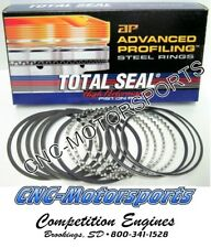 CS9190-285 TOTAL SEAL AP STEEL PISTON RINGS 1/16 1/16 3/16 4.530+5 NITROUS CHEVY