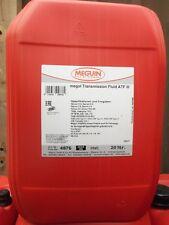 3,95€/l Meguin Transmission Fluid ATF III rot 20 L Dexron III MB 236.1 236.6