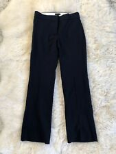 NEW J Crew Edie Full-Length Trousers Pants In Four Season Stretch Navy 10 G8548