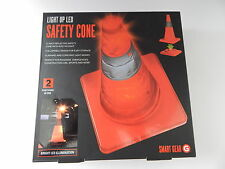Smart Gear STG-6240-MX 17-Inch Portable Light Up LED Safety Cone New