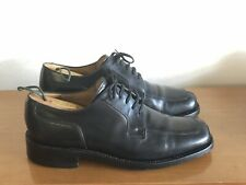 Jones the Bookmaker - Men's Shoes - Black Leather - Size 7 - Made in England