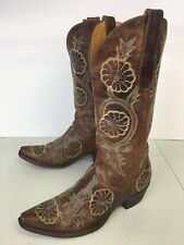 Old Gringo Western Leather Cowboy Boots Women's 7.5 B