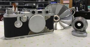 Leica DBP Ernst Leitz GMBH Wetzlar Camera W/ F3.5cm 1:3.5 Lens