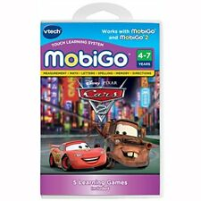 Vtech MobiGo Touch Learning System-Disney/Pixar Cars 2 Software-Neuf