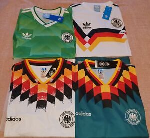 1990 West Germany Soccer Jersey Shirt Football Italia 90 Home Away 1994