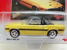 JOHNNY LIGHTNING - FORD MUSTANG - 1969 SHELBY GT350 CONVERTIBLE  - DIECAST