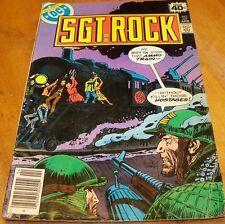 SGT ROCK ~ DC COMICS ~ Vol 28 No 327 April 1979 ~ Sgt. Rock Comic