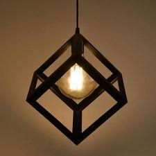 Modern Vintage Ceiling Lamp Retro Edison Light Chandelier Loft Pendant Lighting&