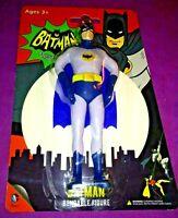 Batman DC Comics NEW Classic TV Series Bendable Action Figure NJ Croce! Discont.