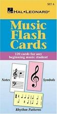 Music Flash Cards Set by Hal Leonard Corp. Staff (1998, Paperback)