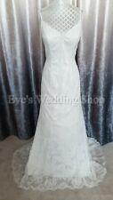 Venus lace ivory wedding dress UK 14