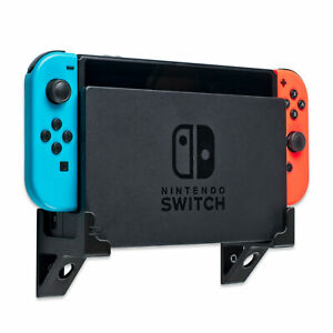 Wall Mount for Nintendo Switch Game Console Dock, Switch Wall Bracket - Black