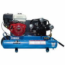 Eagle 9-HP 10-Gallon Wheelbarrow Air Compressor w/ Honda Engine