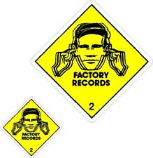 More details for 4 x factory records use hearing protection stickers/decals