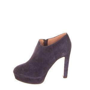 RRP €290 L'AUTRE CHOSE Suede Leather Booties Size 40 UK 4 US 7 Stiletto Heel Zip