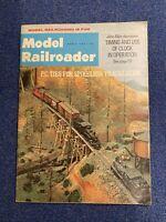 Model Railroader March 1966 Magazine