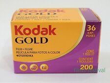 5 rolls KODAK GOLD 200 Color Negative Film 35mm 36exp 135-36