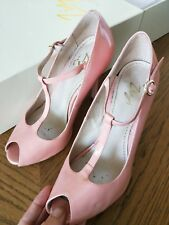 Florsheim pink patent Pasha heels shoes size 37 B