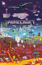 """Minecraft - World Beyond Video Game Post Wall Art by Trends 23"""" x 34"""""""