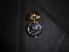 Genuine British Army Royal Northumberland Fusiliers Regiment Cap Badge