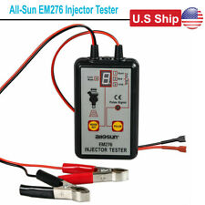 USA Ship All-Sun EM276 Injector Tester 4 Pluse Modes Fuel System OBD2 Diagnostic
