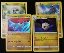 4x LOT Salamence HOLO, Shelgon, & 2 Diff Bagon CELESTIAL STORM - Pokemon Cards