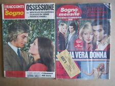 BUSTA anni 70 di 2 Fotoromanzi Sogno Mensile 109 + Racconti di Sogno 93  [C94]