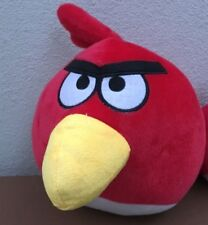 RED ANGRY BIRD PLUSH TOY GAME CHARACTER TOY SOFT ABOUT 28CM Free Post