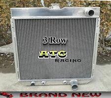 3 ROW ALUMINUM RADIATOR FOR 67-69 FORD MUSTANG/TORINO/LTD V8 Ranchero/Fairlane