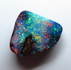 Australian Boulder Opal 10.45ct Queensland Natural Stone