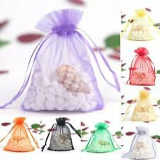 50pcs Candy Bags Sheer Organza Wedding Party Favor Gift  Jewelry Pouches