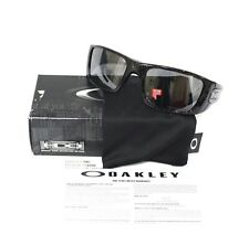 Oakley Sunglasses * Fuel Cell Black Ghost Text Tattoo Polarized Iridium 9096-07