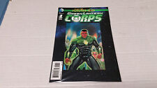 Green Lantern Corps: Futures End # 1 3D Lenticular Motion Cover (DC, 2014)