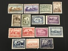 old stamps SPAIN x 15 mm 1930