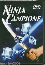 Ninja campione (1986) DVD NUOVO Richard Harrison. Bruce Baron. Jack Lam. N Smith