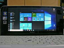 Sony Vaio VGN UMPC VPCP119KJ Z550 2.00GHz 64GB SSD 2GB WEBCAM BT WIFI WINDOWS 10