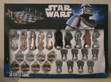 Star Wars 3D CHESS GAME SET United Labels Comicware 2012