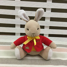 "Bunnykins Bunny Rabbit William Soft Toy Rattle 6"" by Playgro 2001"