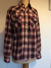"""0095f04abb6 SoulCal Blue red Men s Long Sleeve Check Shirt Size Small 37"""" Chest"""