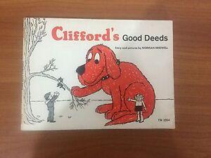 Clifford's Good Deeds (1975). Vintage Scholastic