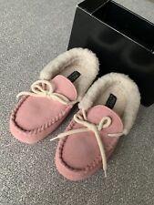 Polo Ralph Lauren Kids Girls Allister Slipper Size 3 US/34 EUR New In Box