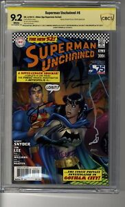 Superman Unchained (2013) # 1 SA Conner CBCS 9.2 White Pages - SS5X Lee, Conner
