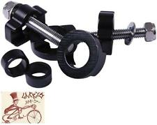 DMR CHAIN TUGS 14MM AXLE BLACK BICYCLE CHAIN TENSIONERS--ONE PAIR