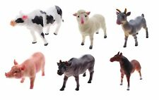 SET OF 2 XXL SOFT FARM ANIMALS VERY BIG KIDS ANIMAL FIGURES LEARNING SCHOOL TOYS
