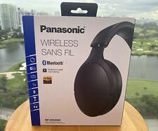 Panasonic RP-HD305B Premium Hi-Res Bluetooth Wireless On-Ear Headphones Black