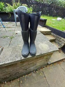 ROK Lanark Muck Boot Black Size 7