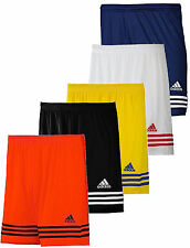 MENS ADIDAS ENTRADA SHORTS FOOTBALL GYM RUNNING SPORTS CLIMALITE S M L XL