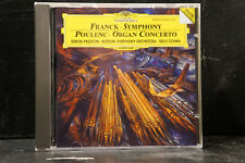 Franck - Symphony/Poulenc - Organ Concerto / Preston/Ozawa/Boston SO